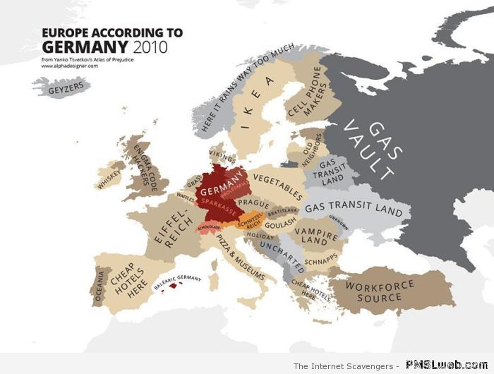 Stereotypes - Europe as seen by Germany