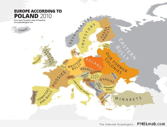 Europe seen by Poland