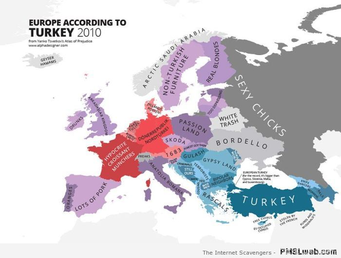 Stereotypes - Europe as seen by Turkey