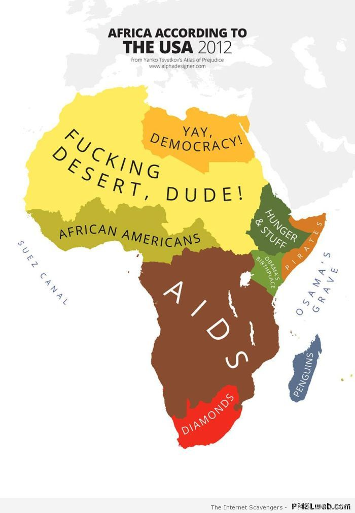 Stereotypes - Africa seen by the USA