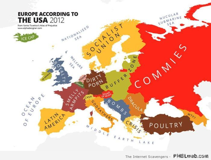 Europe seen by the USA
