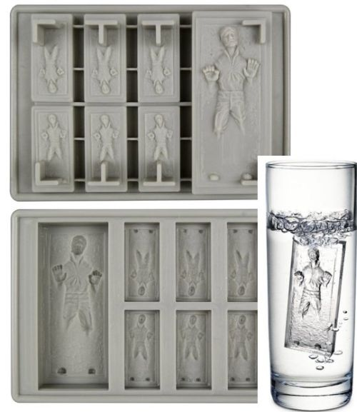 Han Solo ice cubes