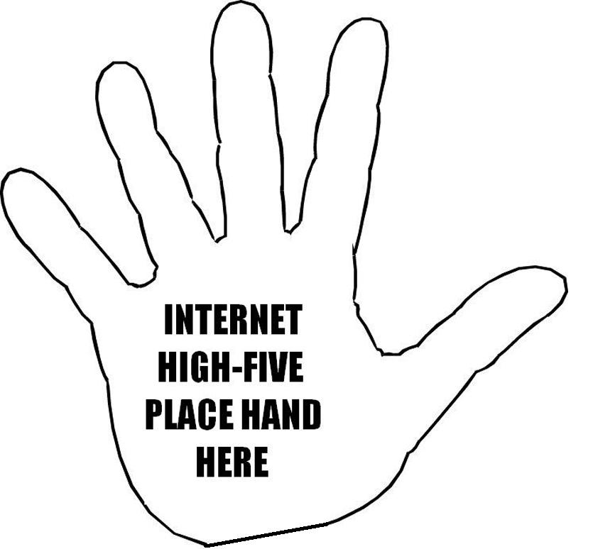 High Five your screen