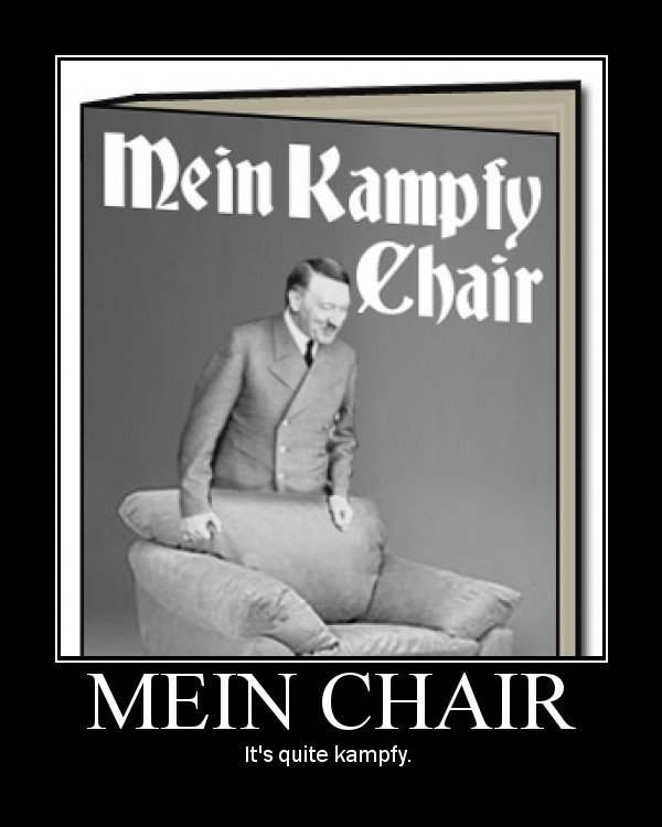 Mein Kampfy Chair