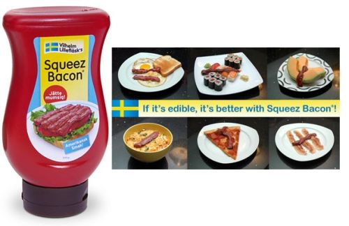 Squeeze Bacon - Geek living at PMSLweb.com