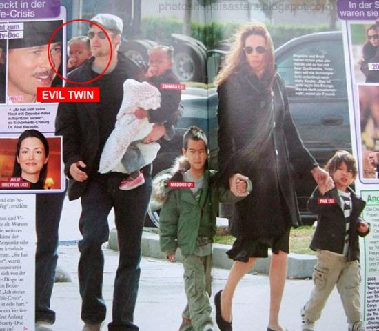 PS Brangelina family fail