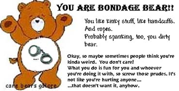 bondage bear