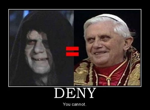 Star Wars Pope - Demotivational Posters at PMSLweb.com