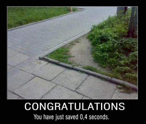 congrats for your save - Demotivational Posters at PMSLweb.com