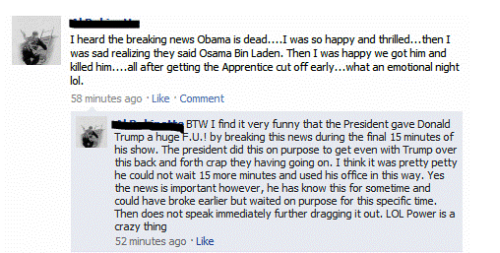 facebook obama is dead - Special Facebook Friday at PMSLweb.com