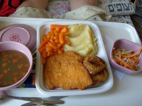 Hospital Food in Israel