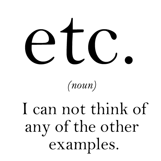 what etc means