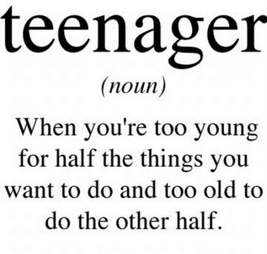 what is a teenager