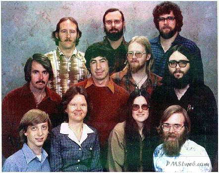 the vintage microsoft team