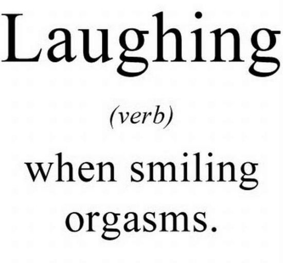 what does laughing mean