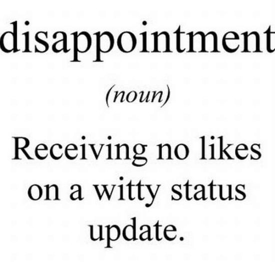 what is disappointment