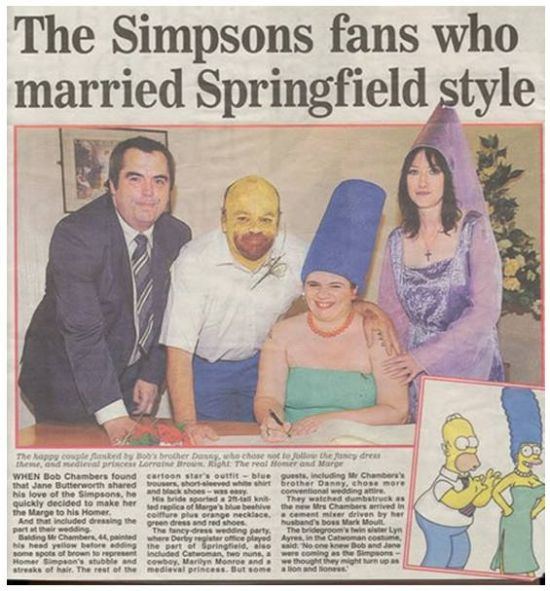 married the Springfield style