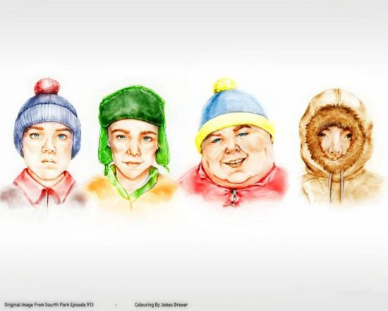 south park artwork
