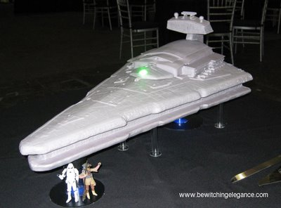 brilliant star wars cake