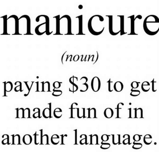 definition of manicure