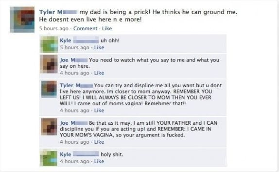don't try and own your dad