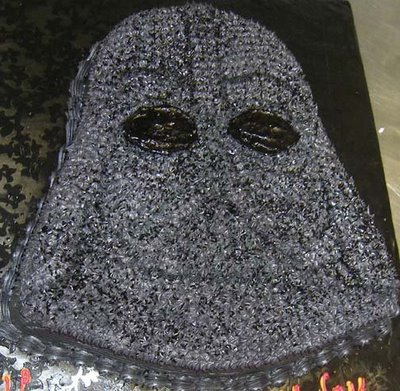 Darth cake