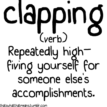definition of clapping