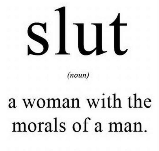 meaning of slut