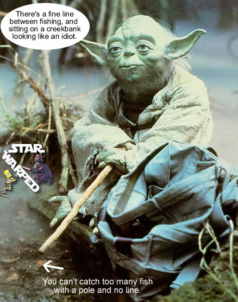 Yoda fishing fail