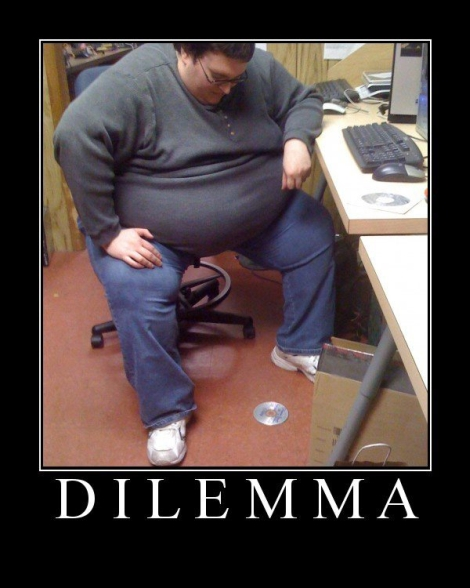 fat man dilemma