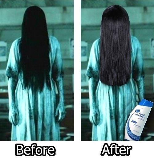 head and shoulders funny