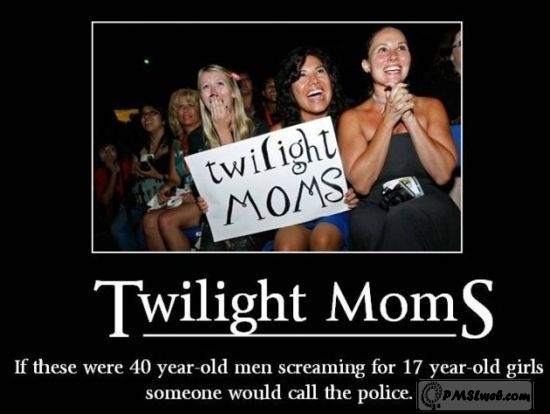 Twilight mum humor