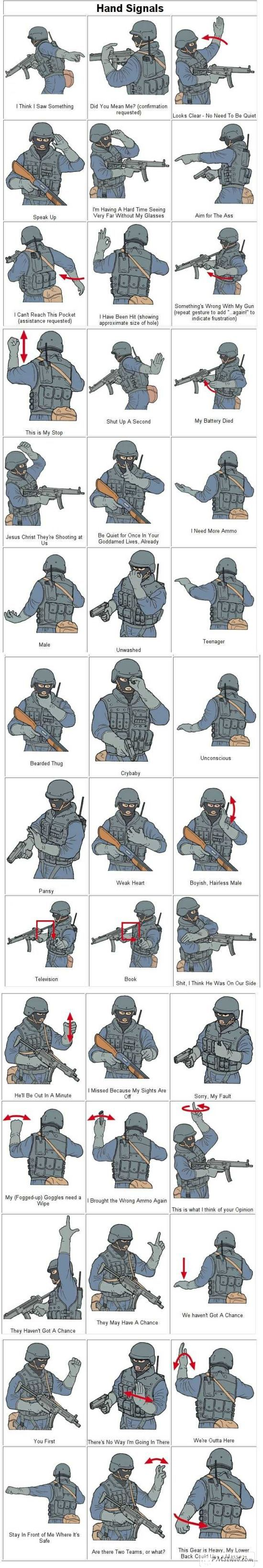 soldier signs humor