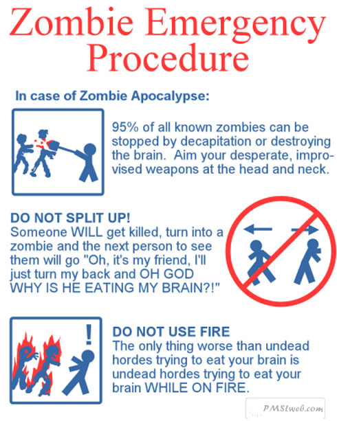 zombie emergency procedure