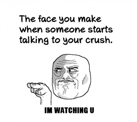 don't talk to my crush