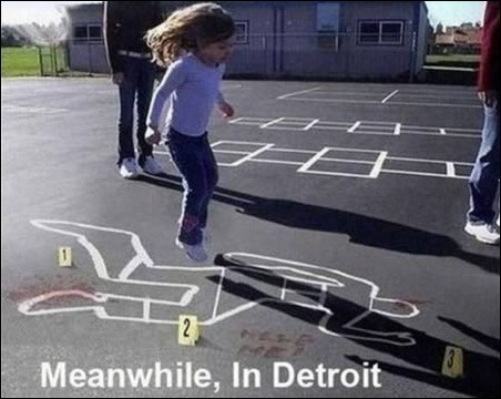 Meanwhile Detroit US