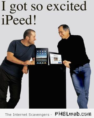 Funny iPad - New iPad Act at PMSLweb.com