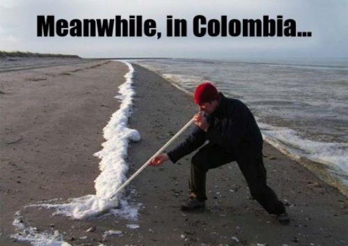 Meanwhile Colombia