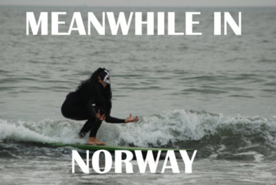 Meanwhile Norway