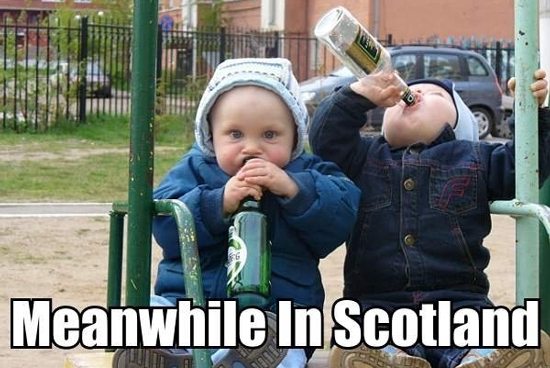 Meanwhile cotland