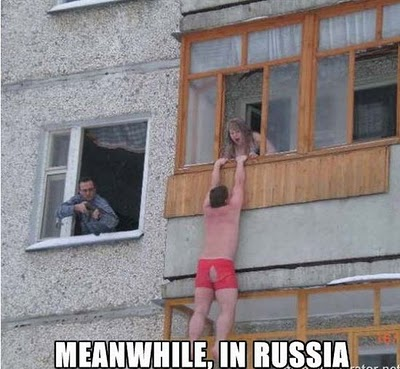 Meanwhile russia