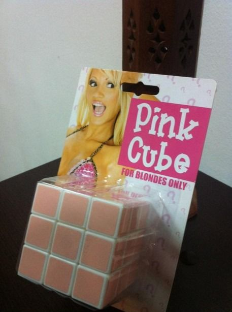 rubbix cube made easy for blondes