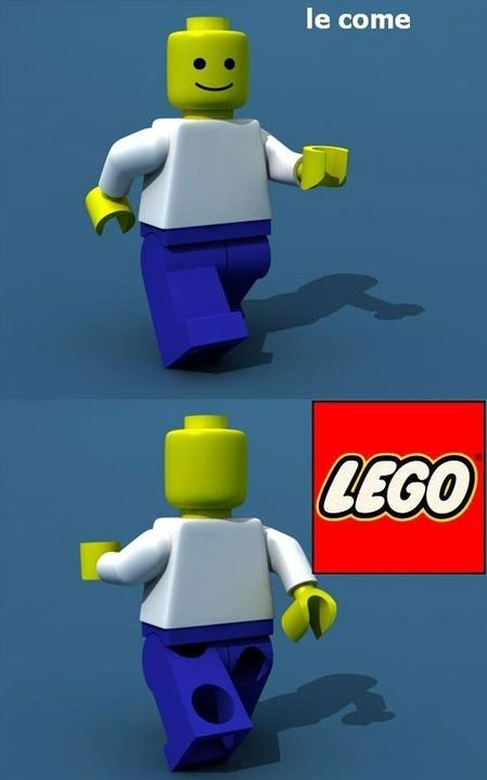lego comes and goes