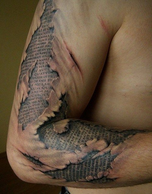 amazing arm tattoo