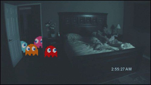 pacman paranormal activity