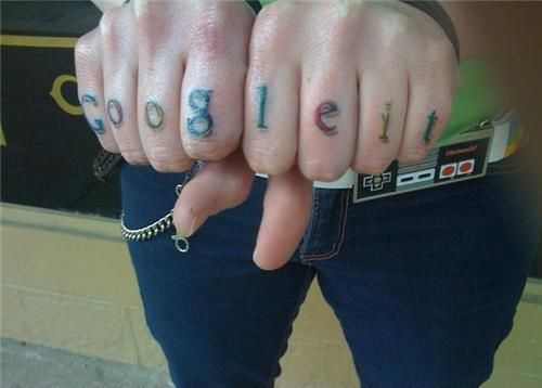google it hand tattoo