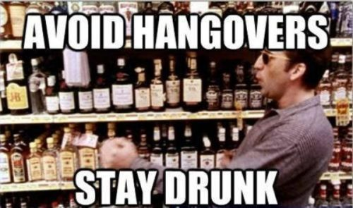 avoid hangovers funny