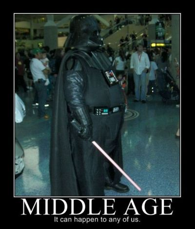 darth vador middle age demotivational