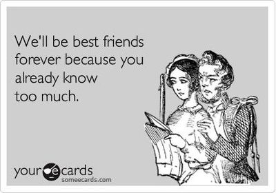 best friends someecards
