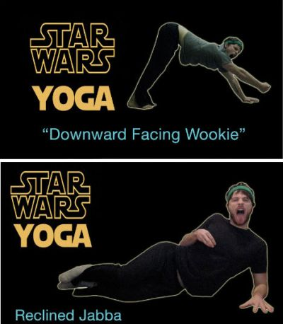 star wars yoga funny